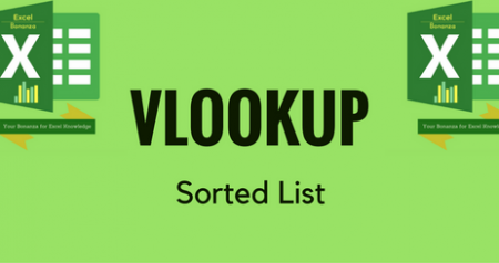 VLOOKUP with Sorted List - AKA Approximate Match