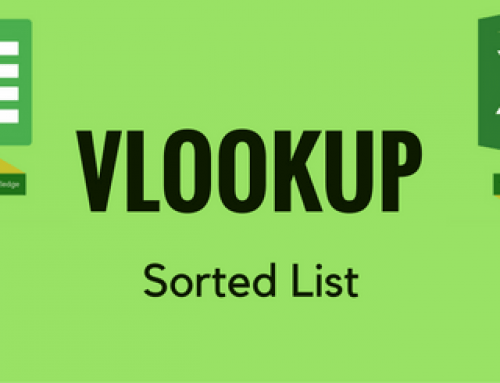 VLOOKUP with Sorted List – AKA Approximate Match