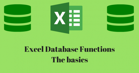 Database functions: The key to manage large sets of data