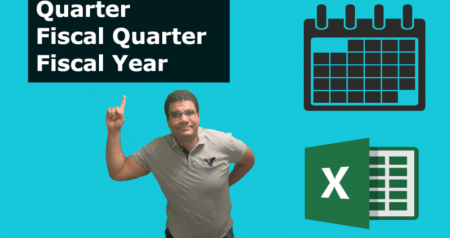 Calculate Quarters , Fiscal Quarters in Excel [Video]
