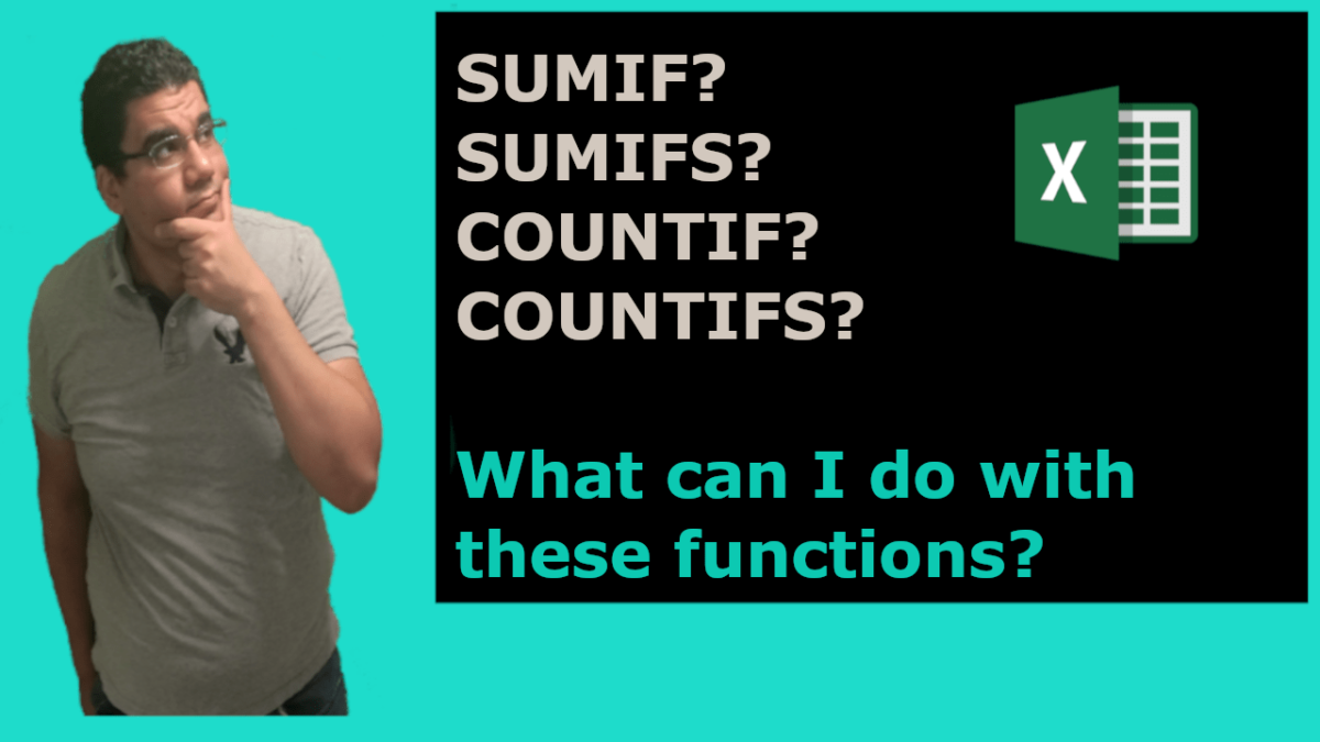 SUMIF SUMIFS