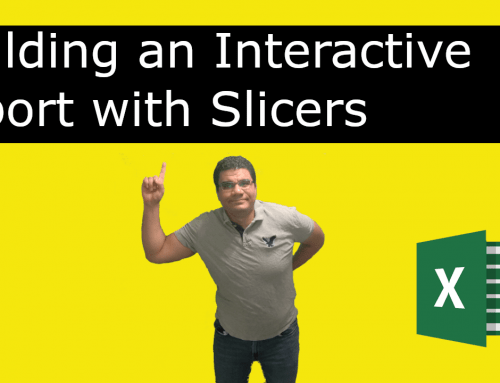 Slicers | Using Slicers to create an Interactive Report